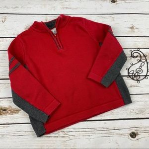 Hanna Andersson Sweater 100cm Red Pullover Holiday